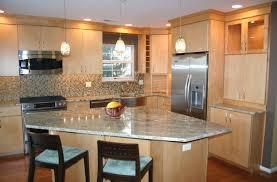 glamorous kitchen backsplash maple cabinets