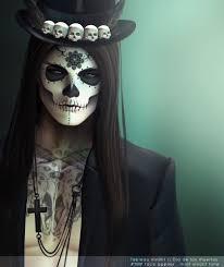 The 15 Best Sugar Skull Makeup Looks For Halloween Halloween by Dia De Los Muertos Makeup Man Beard Google Search Cloths