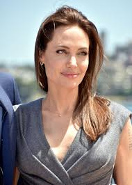 angelina jolie at u201cunbroken u201d photocall at sydney opera house