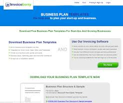 Starting A Business Plan Template How To Write A Business Plan Business Plan Template