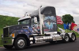 american volvo trucks volvo mack honor service members with memorial day tribute trucks
