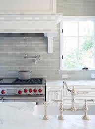 love smoke gray backsplash white cabinets and carrera marble