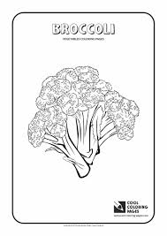 broccoli coloring page cool coloring pages