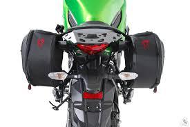 sw motech bags connection blaze sport saddlebag system for