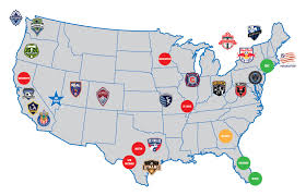 Political Map Of United States And Canada by United States National Women U0027s Soccer League U2013 Soccer Politics