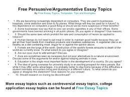 Argumentative Essay Topics that Will Put Up a Good Fight