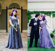 compare prices on purple wedding dress gothic online shopping buy