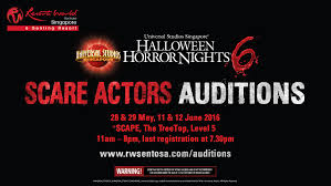 costumes halloween horror nights halloween horror nights 6 scare actors auditions youtube