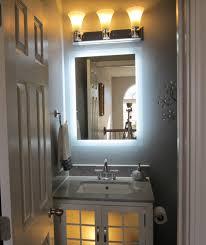 bathroom cabinets 800x600mm lunar illuminated led mirror close