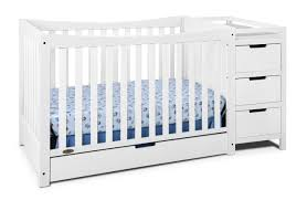 Convertible Crib Changer Combo by Graco Remi 4 In 1 Convertible Crib And Changer White
