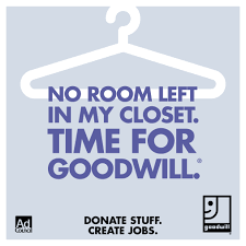 donate stuff create jobs goodwill and the ad council fashion