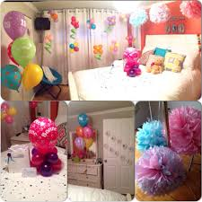 Home Made Decoration by Room Decoration As A Surprise For My Best Friend U0027s Birthday