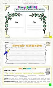 English Worksheets  MY BOOK REPORT   rd Part  ESL Printables