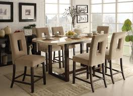 height of a dining table