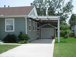 outdoor simple yet highly modern car port ideas attached to your build 2 car garage with carport plans diy floating corner shelf design