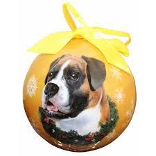 boxer ornaments boxer dog christmas ornaments at boxerdogchecks com