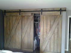 Sliding Barn Closet Doors by Barn Door Hardware Bypass Doors On A Single Rail This Would