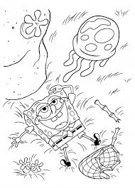 spongebob happy birthday coloring pages spongebob skateboarding coloring page boys pages of