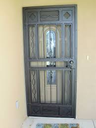 simple vintage styled storm door will give a different touch to