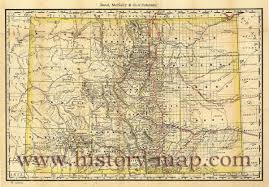 Southern Colorado Map by Railroad Map