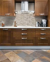 simple kitchen style ideas with self adhesive stick tile