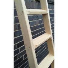 Bespoke And Custom Made Ladders And Stepladders Austin White - Ladder for bunk bed