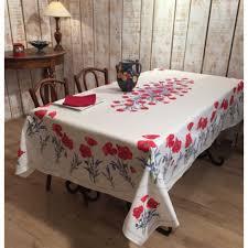 nappe ronde enduite 160 nappes provençales en coton enduit linges de table par frenchictoyou
