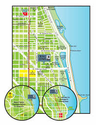 Boystown Chicago Map by Chicago Getaway Hostel