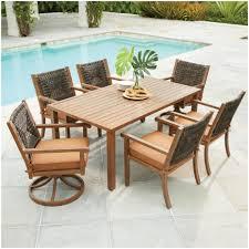 Martha Stewart 7 Piece Patio Dining Set - furniture walmart wicker patio dining sets patio dining sets