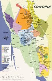 California Maps Map Of Northern California Wineries California Map