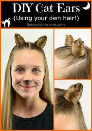 Halloween Costume Ears Halloween Costumes 10 U0026 Hairstyles Hairland