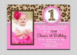 Free Printable Birthday Invitation Cards With Photo Birthday Invites New 1st Birthday Party Invitations Design Ideas