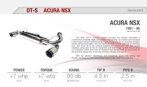 nissan 370z ark exhaust acura nsx 91 96 ark performance ark dt s collection cat back