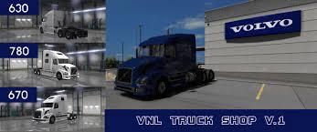 Volvo Vnl Truck Shop V1 Mod American Truck Simulator Mod Ats Mod