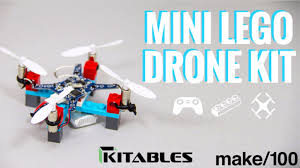 diy mini lego drone kit by kitables u2014 kickstarter
