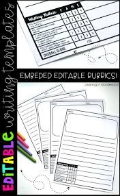 kindergarten lined writing paper best 10 kindergarten writing rubric ideas on pinterest writing is grading your students writing a struggle this writing paper has rubrics embedded right