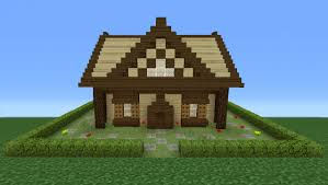 How To Build A Cottage House by Minecraft Tutorial How To Make A Small Wooden Cabin 2 Youtube