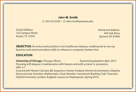 General Sample Resume Objective Resume Samples Sop Proposal