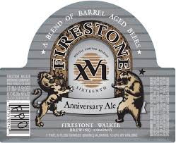 Firestone Walker XVI Anniversary Ale release slated for November