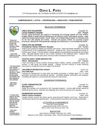 Oncology Nurse Resume Objective Intern Resume Example English Cv Engineering Student Civil