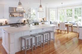 Kitchen Island Lamps Furniture White Wooden Kitchen Island With Black Granite Top On