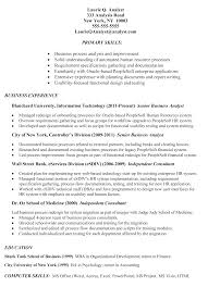 Sample Investment Banking Analyst Resume Fancy Design Business Resume Examples 6 Why This Is An Excellent
