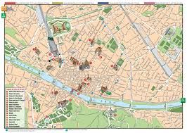 Tuscany Map Florence Italy Map High Resolution Large Map Of Florence