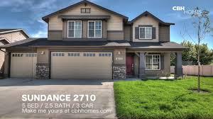3 Car Garage Cbh Homes Sundance 2710 5 Bed 2 5 Bath 3 Car Garage Youtube