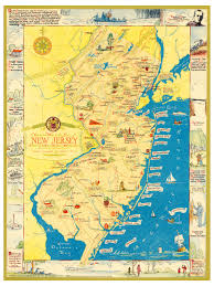 Map Nj Amazing Map Of New Jersey Filled With Historical Trivia Knowol