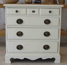 Small Bedroom Side Tables Small Bed Side Tables With Classy White Painting And 5 Drawers As