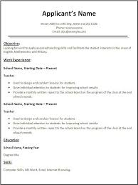 resume formats for word   free resume template for microsoft word LATAmup
