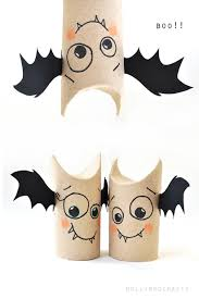 Halloween Witch Craft Ideas by 5min Craft Toilet Roll Bat Buddies Toilet Bats And Craft