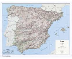 Spain Political Map by Maps Of Spain Detailed Map Of Spain In English Tourist Map
