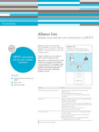 swift alliancelite factsheet web browser internet